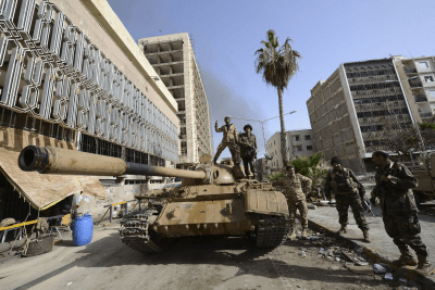 Libyan Militants Just Seized A Central Bank Branch With As Much As $100 Billion Inside