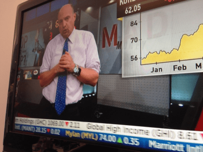 Jim Cramer did something with the Apple Watch that you should never do (AAPL)
