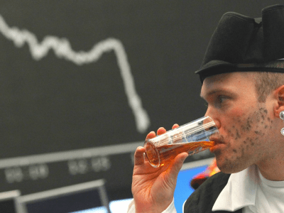A stock exchange-themed bar is opening in the City of London — with prices that dip and surge with demand
