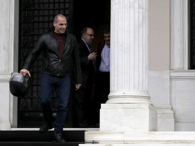 Greek finance minister Yanis Varoufakis doesn't drive a car to work