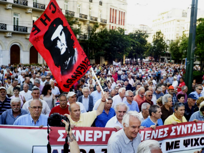 Syriza's own hard-left supporters are turning against Greece's new 'tombstone' bailout deal