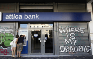 Greek bank capital controls will remain in place for at least two more months + MORE