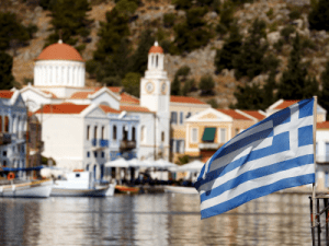A top property company is predicting a 'fire sale' of Greek islands