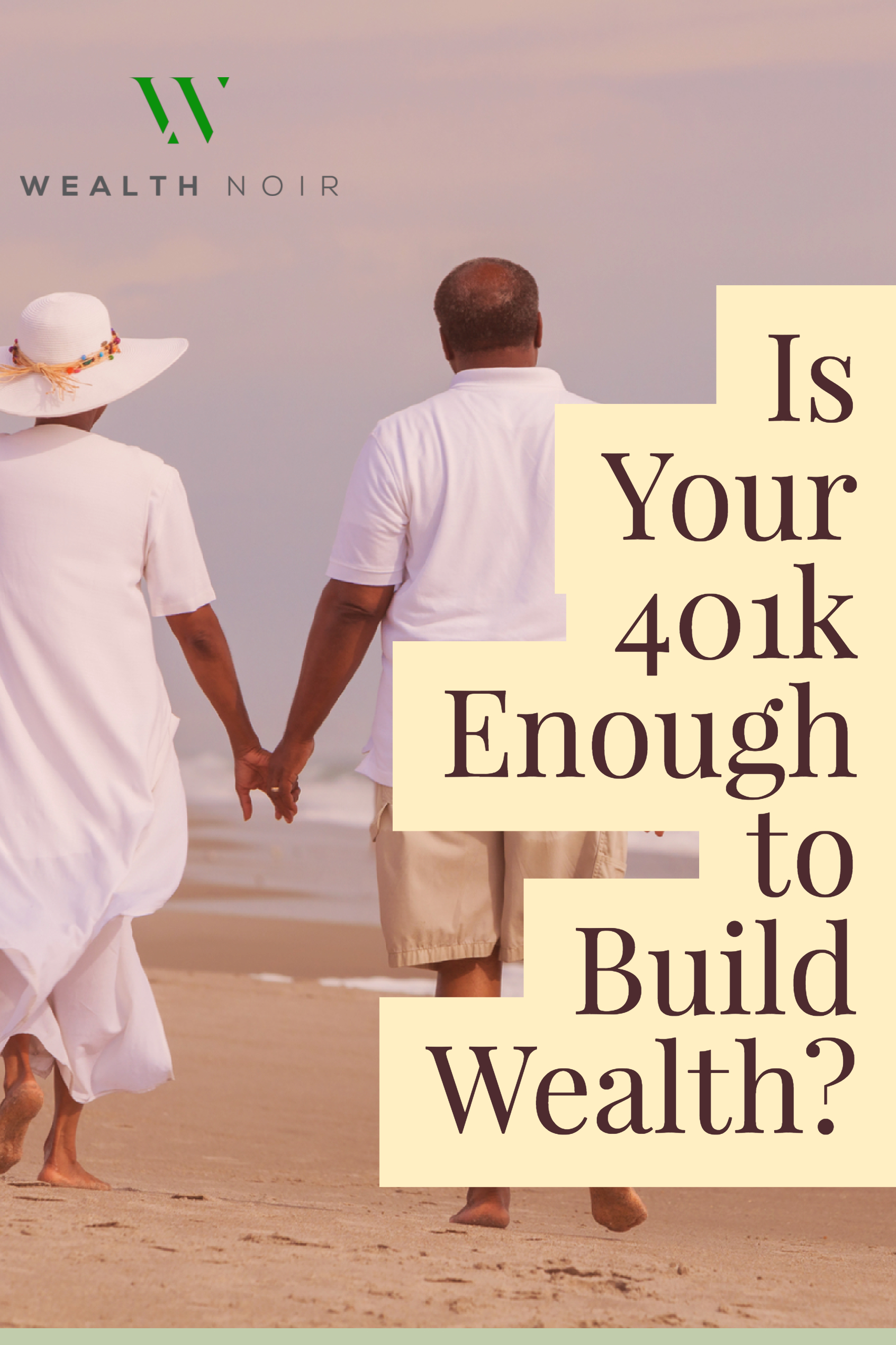 Great advice on building wealth. Looks like you need more than a 401k.