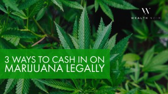 3 Ways To Cash In On Marijuana Legally