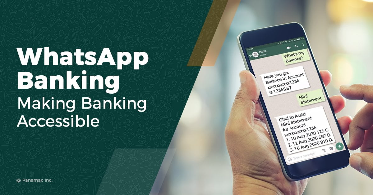 WhatsApp Banking – All you need to know