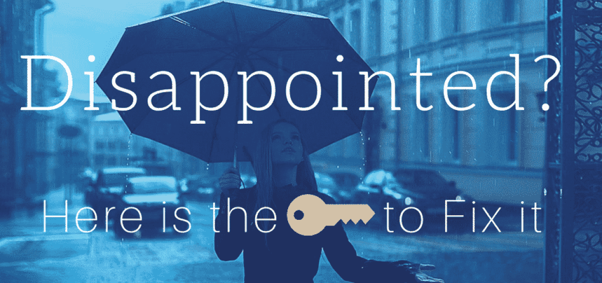 coping with disappointments in life