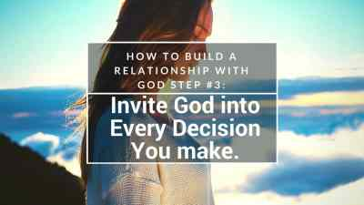 Build a Relationship with God