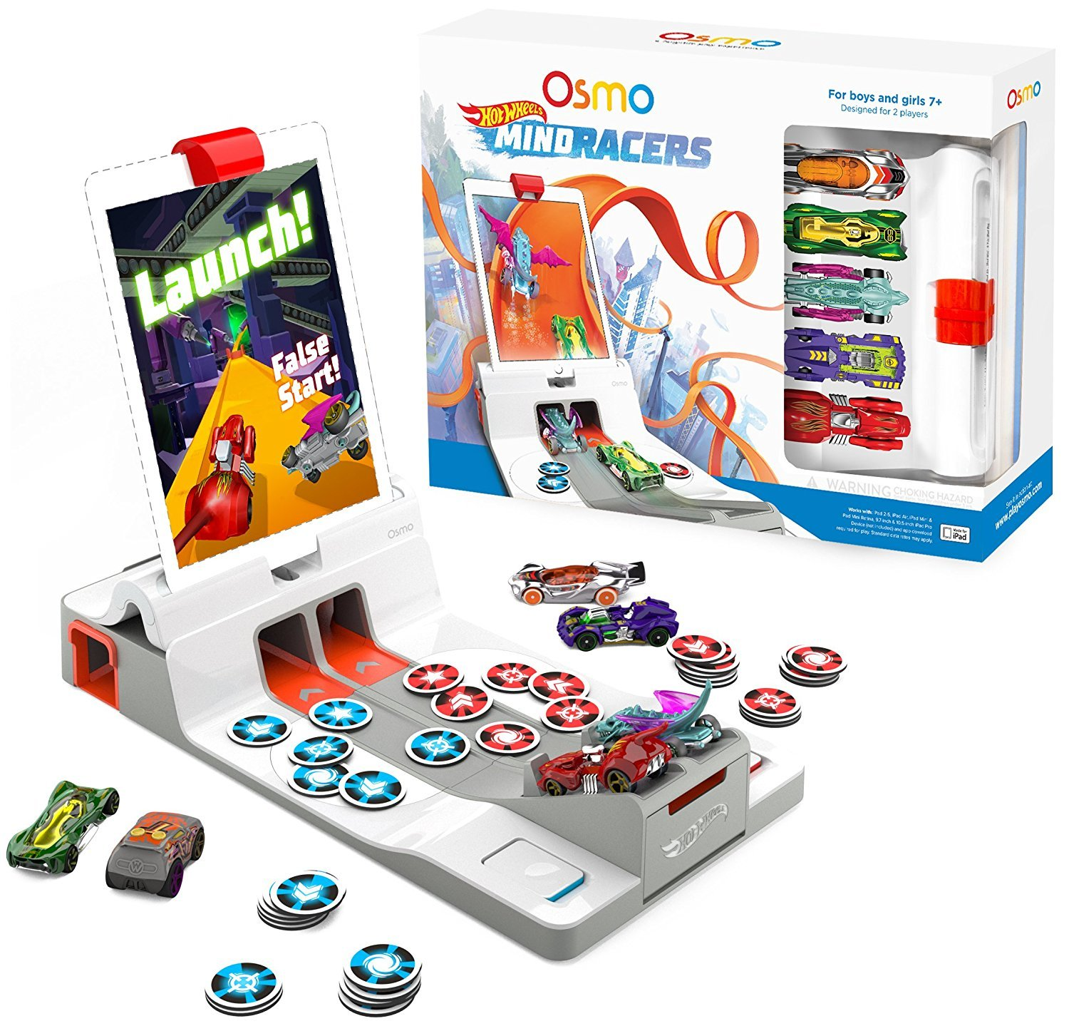 Osmo's Hot Wheels Mind Racers Makes a great present for Children with ADHD