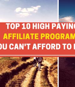 High paying affiliate program