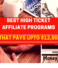 high ticket affiliate programs