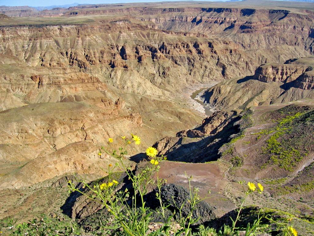Каньон Фиш Ривер в Намибии