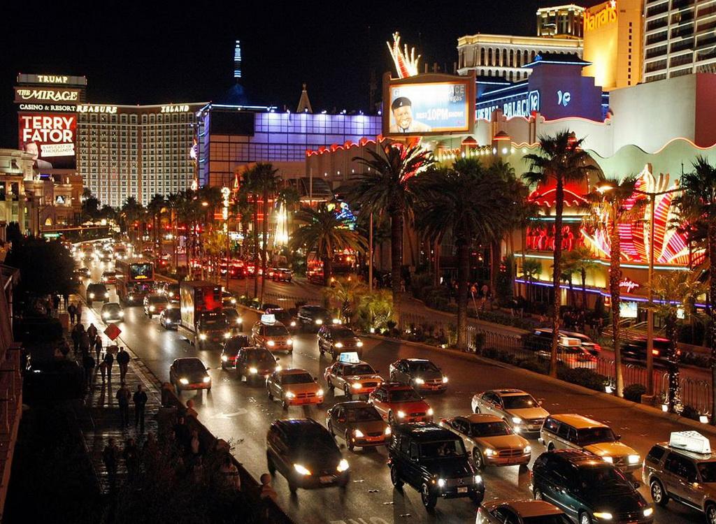 Лас-Вегас-Стрип город развлечений