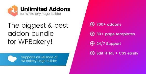 Unlimited Addons for WPBakery Page Builder 1.0.42