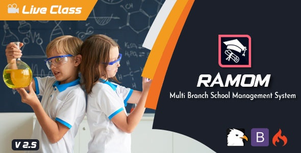 Ramom 4.5 Nulled – Multi Branch School Management System