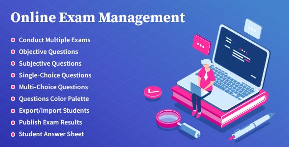 Online Exam Management 2.6 Nulled – Education & Results Management