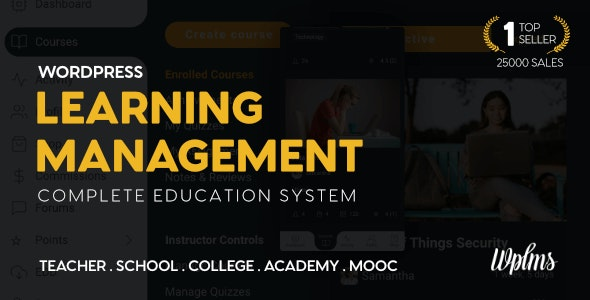 WPLMS 4.098 Nulled – Learning Management System for WordPress, Education Theme
