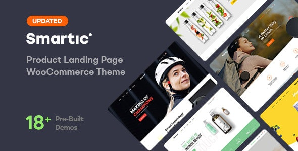 Smartic 1.7.0 – Product Landing Page WooCommerce Theme
