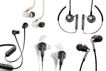 Best Earbuds, earphones, in ear headphones under 100 of 2018
