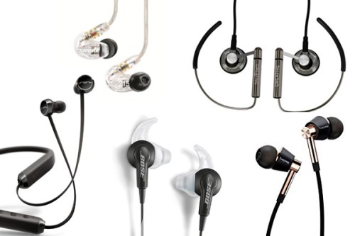 Best Earbuds, earphones, in ear headphones under 100 of 2018