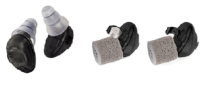 Great smart earplugs come with variety of tips. the HD 15 earplug not only reduce the noise but they can amplify the sound