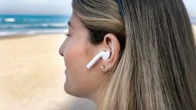 wireless earbuds in ear