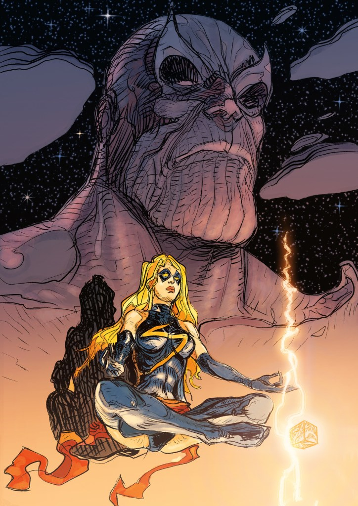 Daniele Afferni: Thanos & Captain Marvel