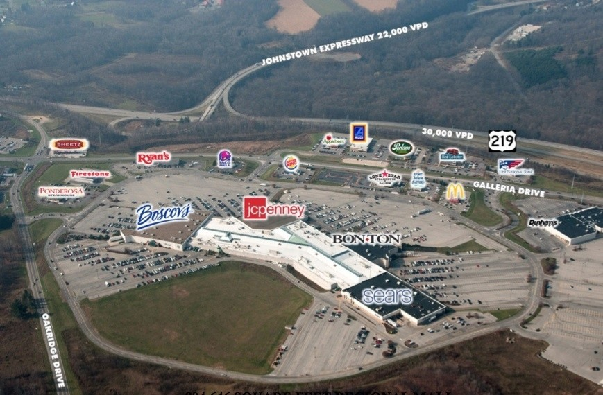 Johnstown Galleria Mall property for sale