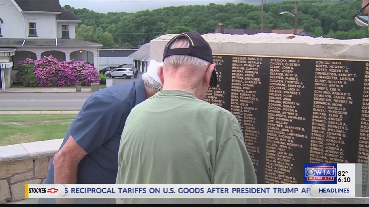 OTR Curwensville War Monument