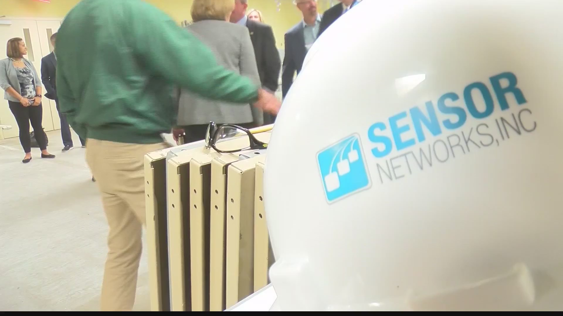 Sensor Networks is expanding to a new building in State College... larger space means room for new employees