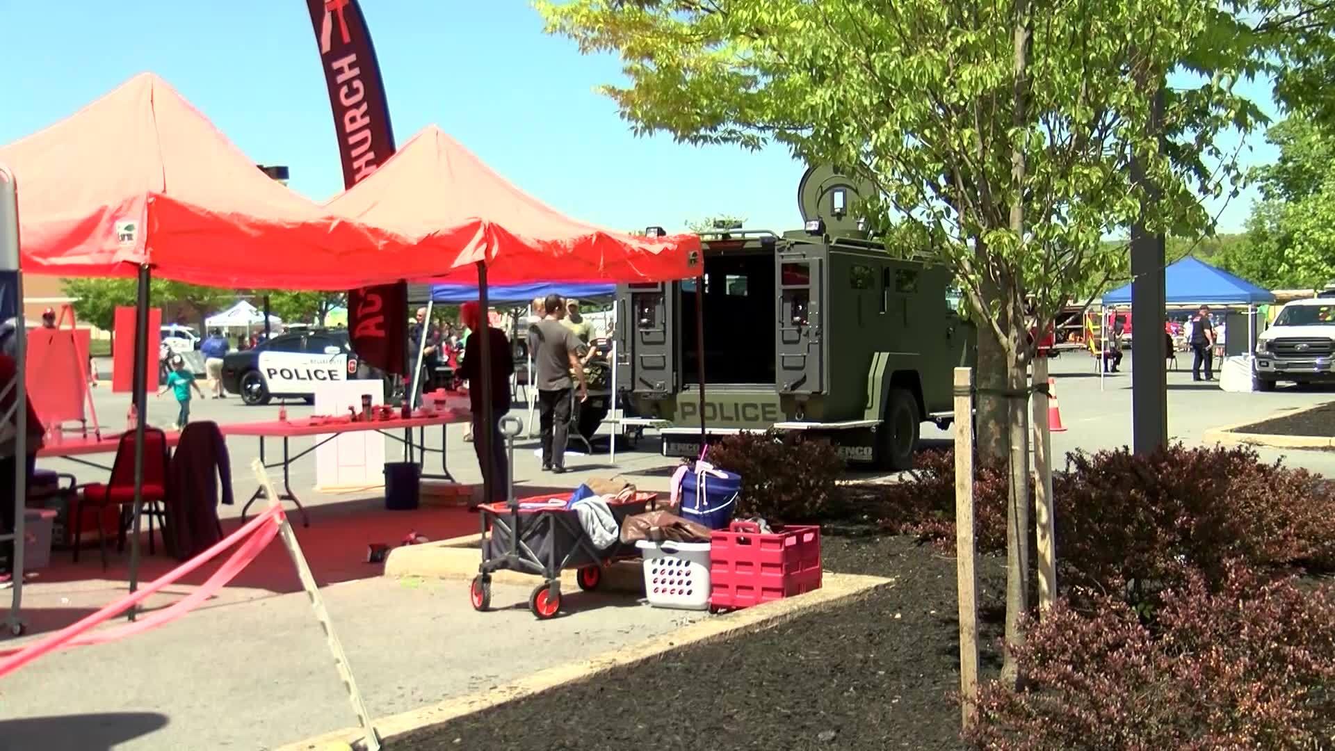 Patton Township Hosts Children's Safety Fair
