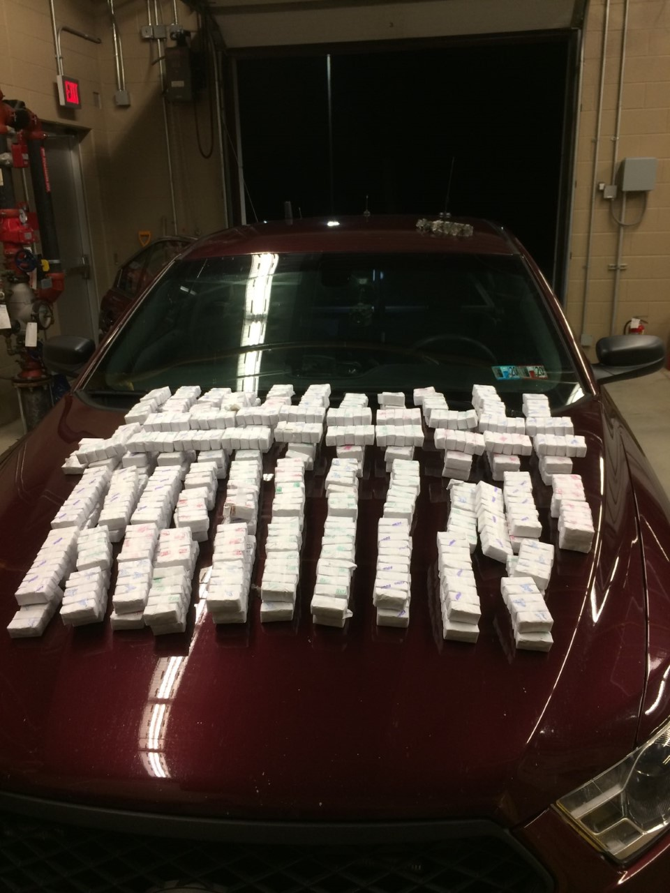 New York man caught with almost $500k in drugs hidden in