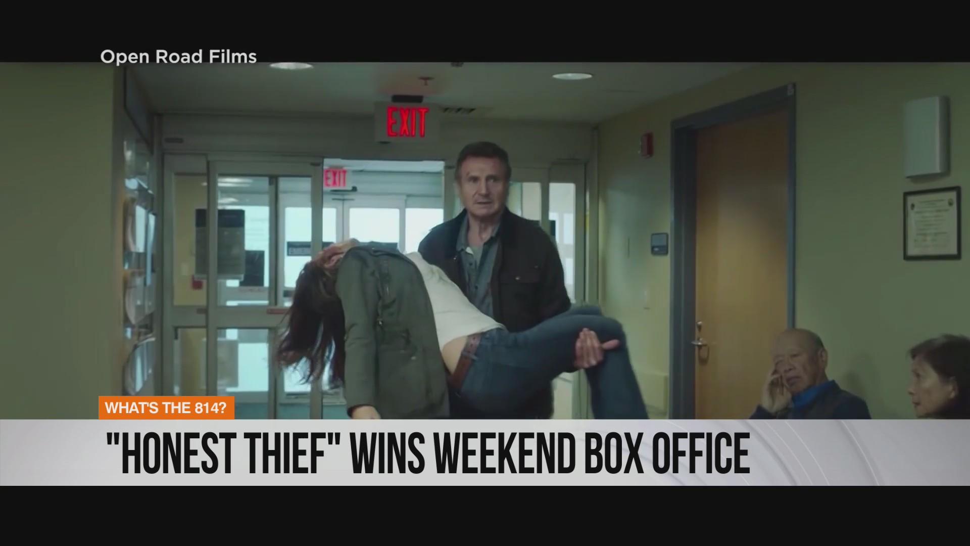 Honest Thief Wins Weekend Box Office Wtaj Www Wearecentralpa Com