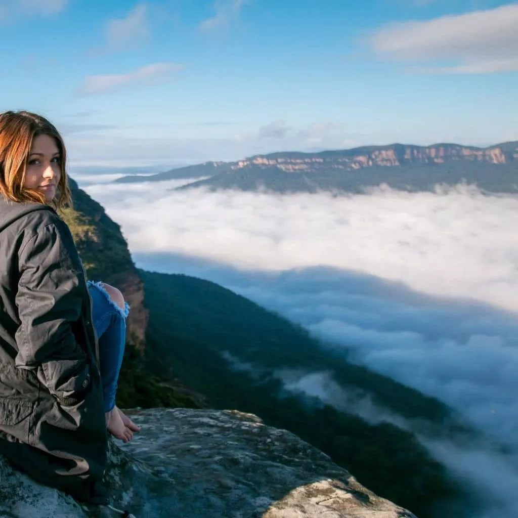"""Microadventures with @aaronkellyphoto 3/5 """"This place is an absolute favourite of mine and is quite often a place I stop off at with a morning coffee on my way up the mountain. Every time I've been here it has looked completely different - another really accessible spot to anyone planning a weekend in the blue mountains."""" #weareexplorers"""