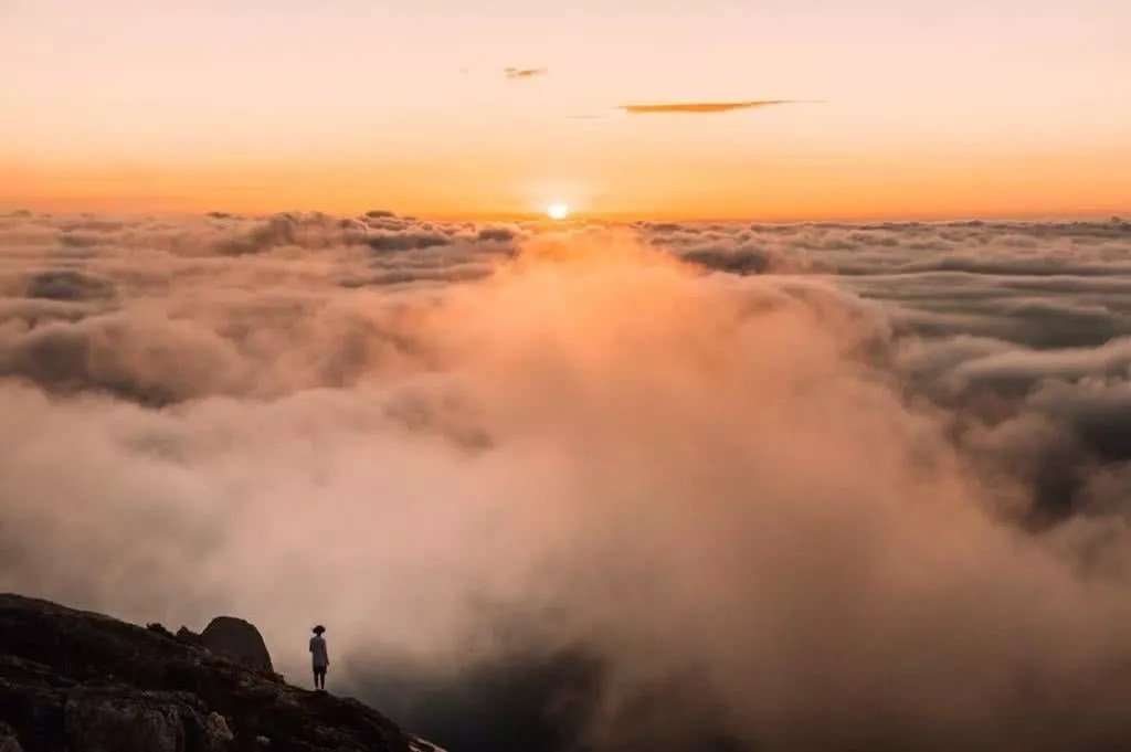 """Microadventures with @lauraalycebell 2/5 """"I took an impromptu drive down to The Prom to meet @mattcherub & @hannes_becker for the night. We hiked up Mt Oberon for subset to be greeted by this view. Yes, incase you were wondering...this is heaven!"""" #weareexplorers"""
