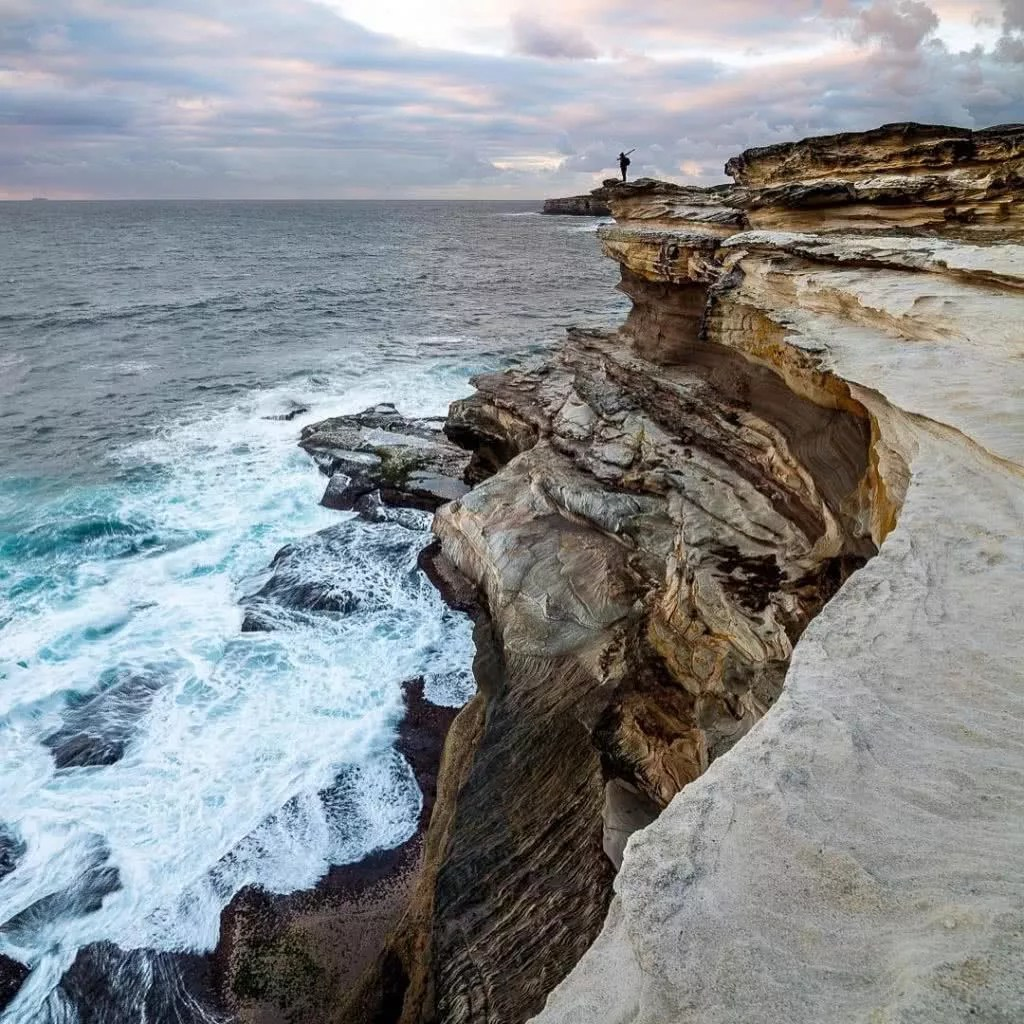 "Microadventures with @_tekky 4/5 ""Another favourite location of mine that I've been to half a dozen times already this year. I love the cliff face and the beautiful coast lines this place provides. Located in the Botany Bay National Park, it's also a favourite destination for our little family weekend."" #weareexplorers"