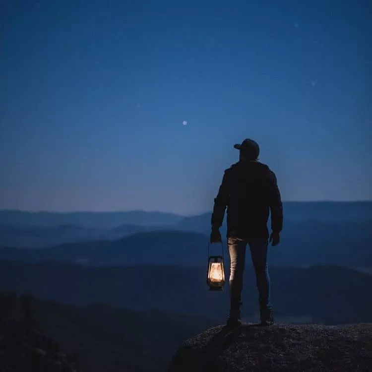"Microadventures with @mitch_smith_ 2/5 ""High above the Victorian Alpine Region. Cold clear nights and a flickering lantern, every explorers dream. The thought of it alone warms me to my bones."" #weareexplorers"