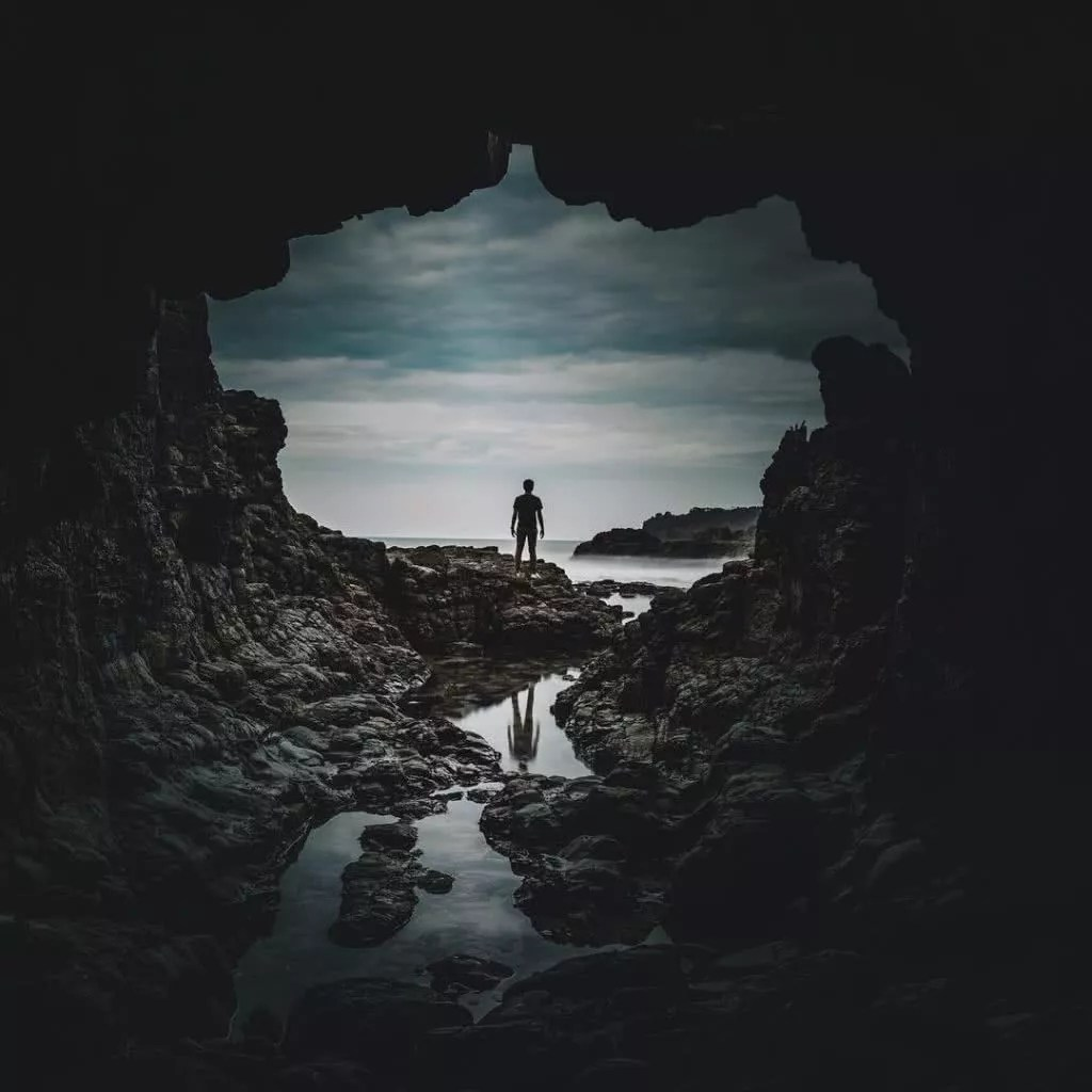 "Microadventures with @tk_north 3/5 ""Taken from a trip to the South Coast this is one of my favourite areas to explore just out of Sydney. This location Cathedral Rocks just near Kiama."" #weareexplorers"