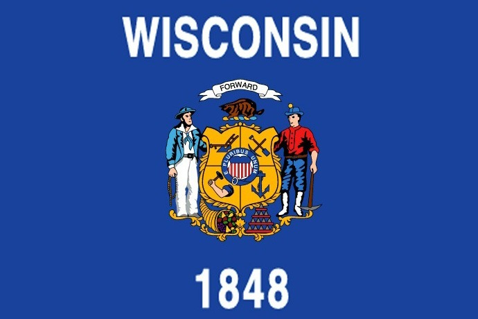 Wisconsin State Flag_-4160505311968542659