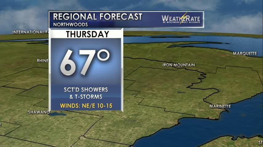 Regional Forecast Northwoods 8-3