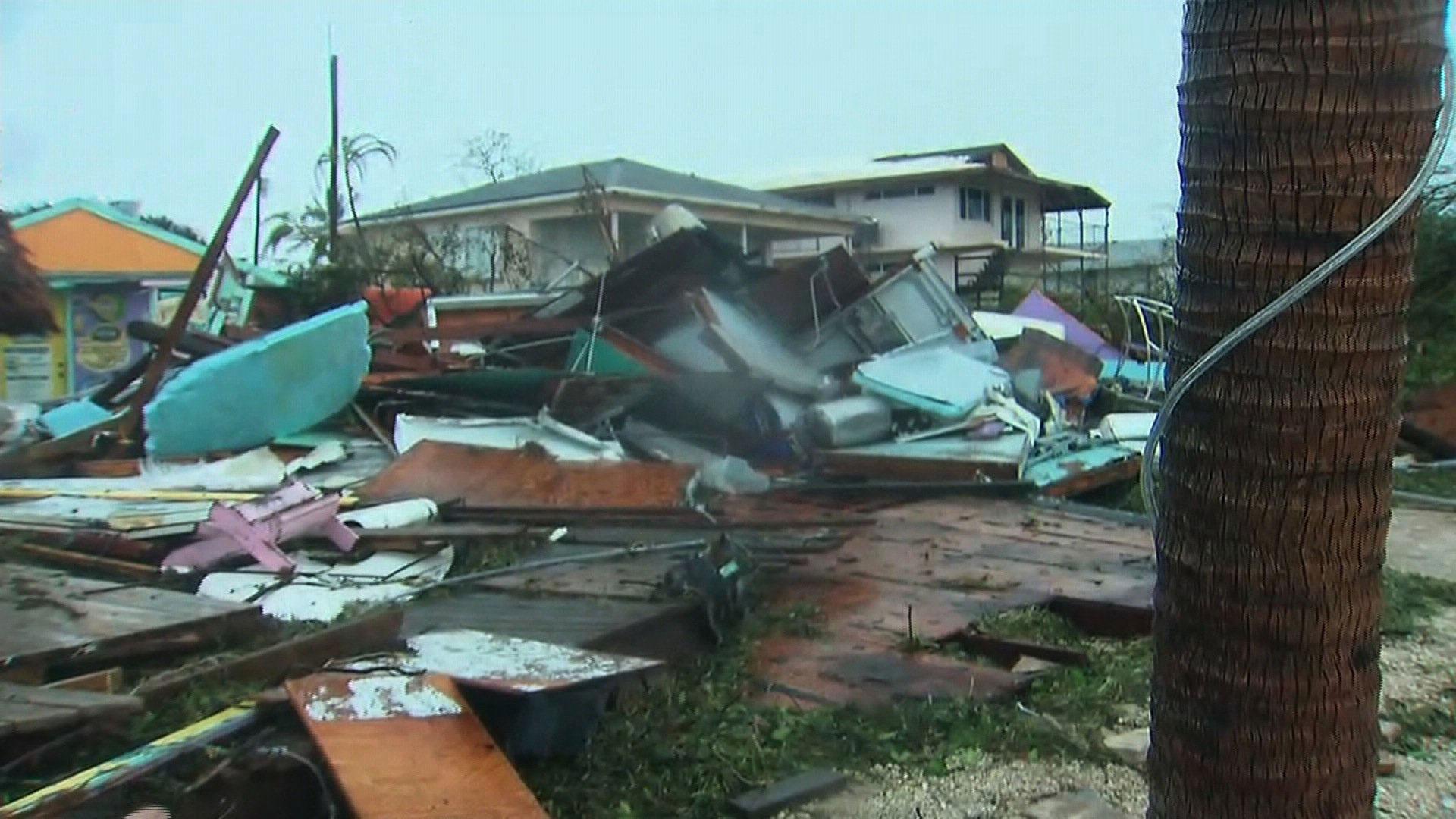 Hurricane Irma damage in Florida Keys71743845-159532