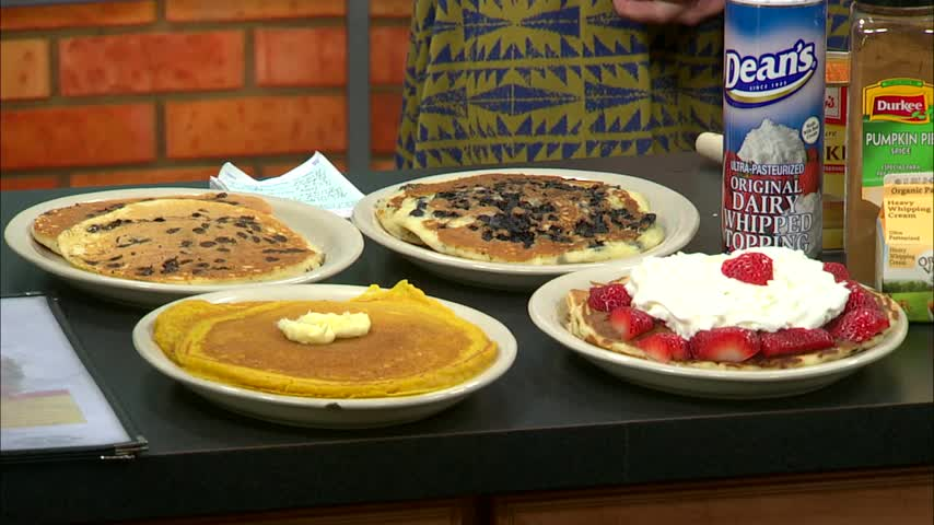 Your Local Expert: Pumpkin Pancakes from Julie's Cafe