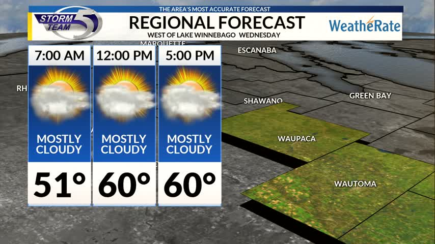 Regional Forecast Central WI 10-11