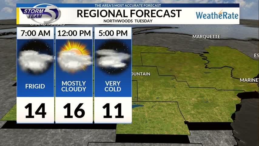 Regional Forecast Northwoods 12-12