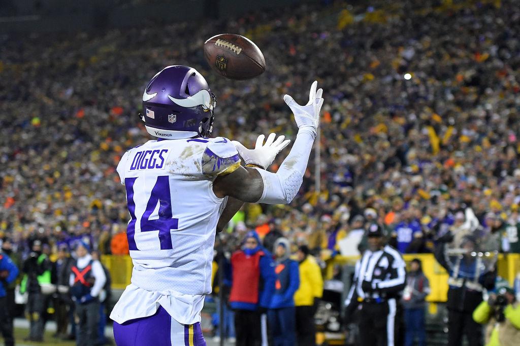 Vikings Stefon Diggs vs Packers