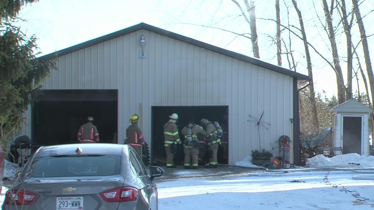 Bellevue garage fire