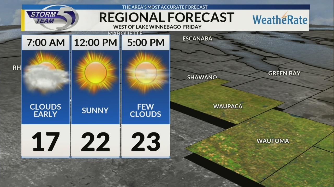Regional Forecast Central WI 2-16
