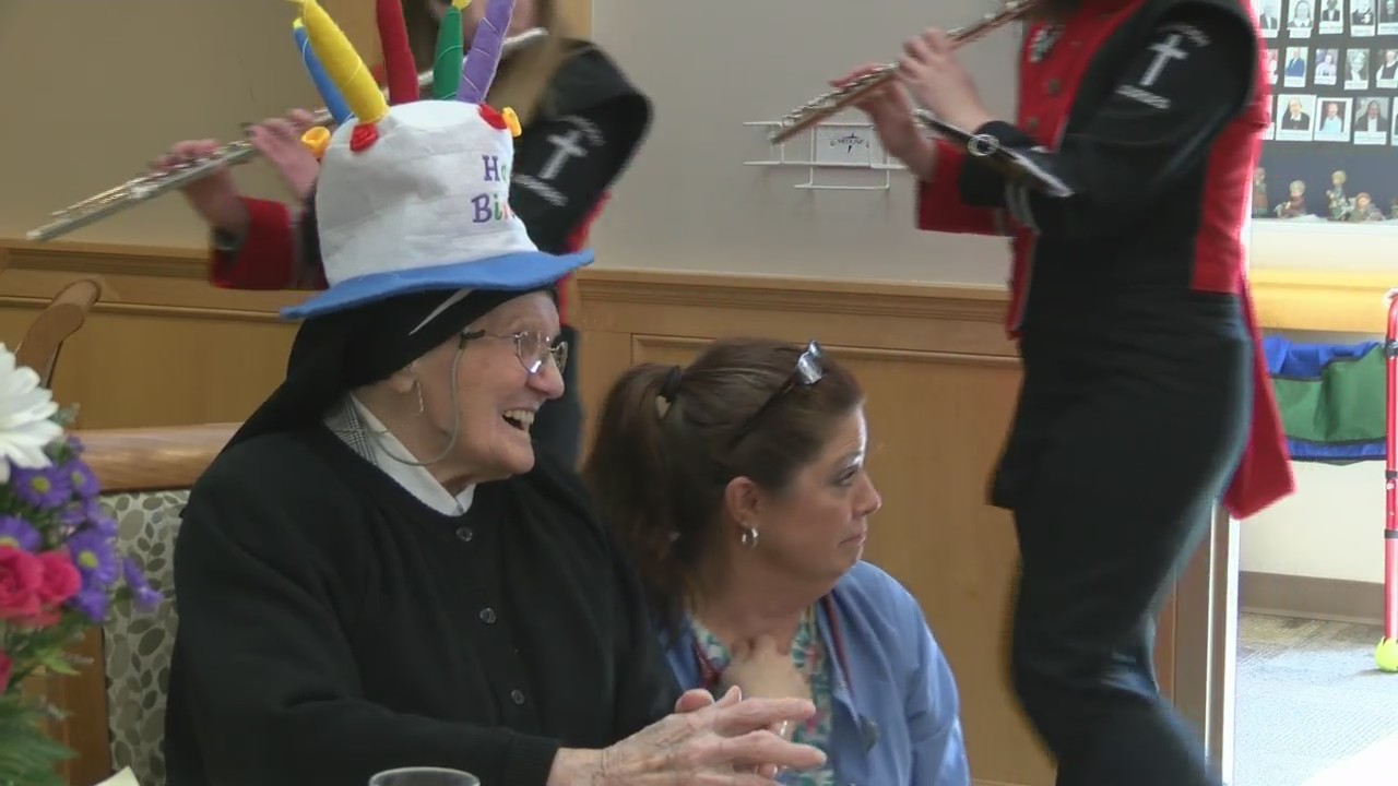 Sister Mary Urban turns 105