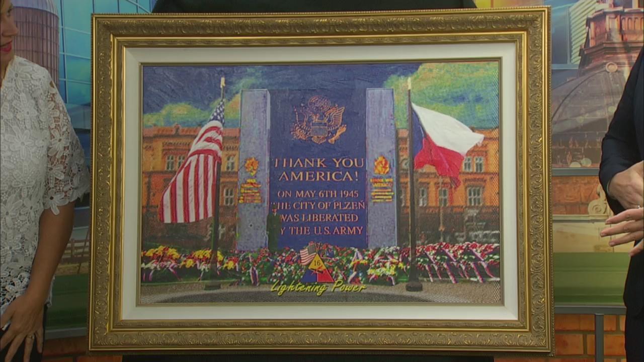 Artist Nicolosi: Thank You America
