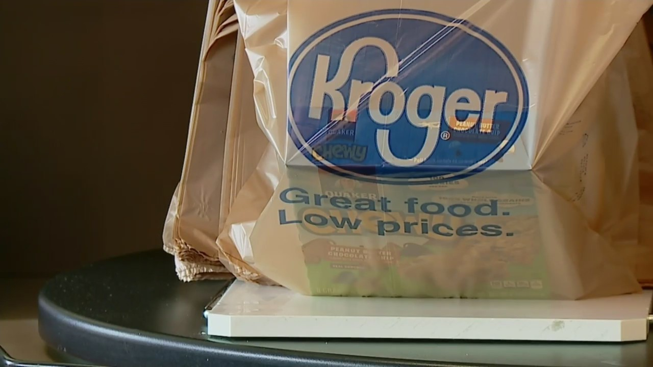 Kroger Ditching Plastic Bags